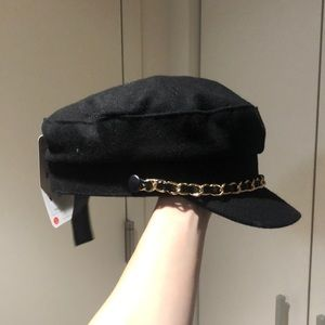 efcfc440 Zara Accessories | Womens Black Cap Hat | Poshmark